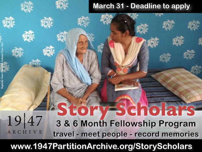 [IMAGE: Story Scholar Program Poster 2018]